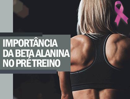 ARTIGO - IMPORTÂNCIA DA BETA ALANINA NO PRÉ TREINO